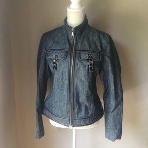 Michael Kors Jean Jacket Size: Large
